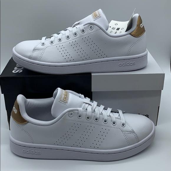 adidas Shoes   Advantage Wmns Whitegold
